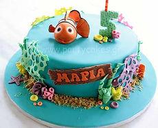 Τούρτα Νέμο ψάρι Nemo Cake