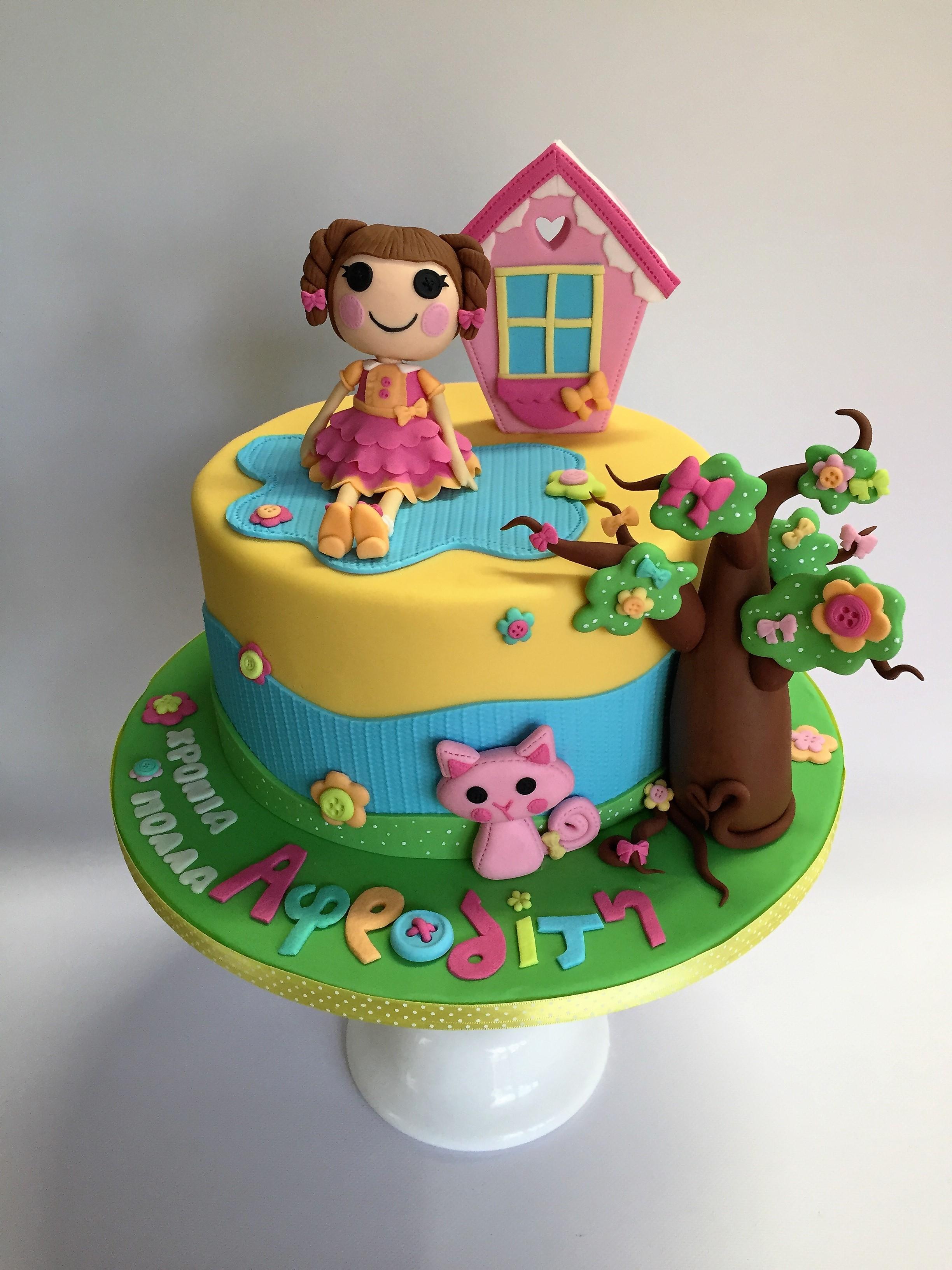 Lalaloopsy Cake 1