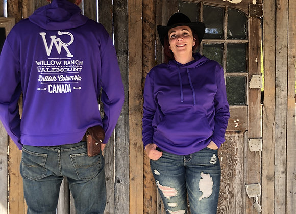 Willow Ranch Hoodie purple