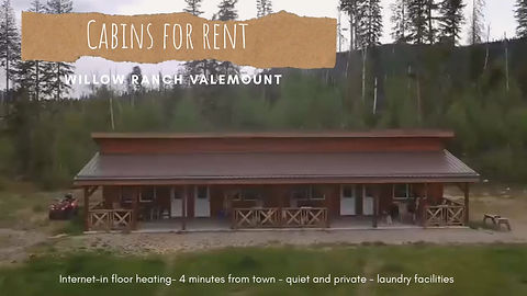 Check out our cabins