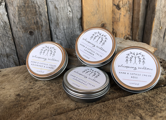 Hand and Cuticle salve
