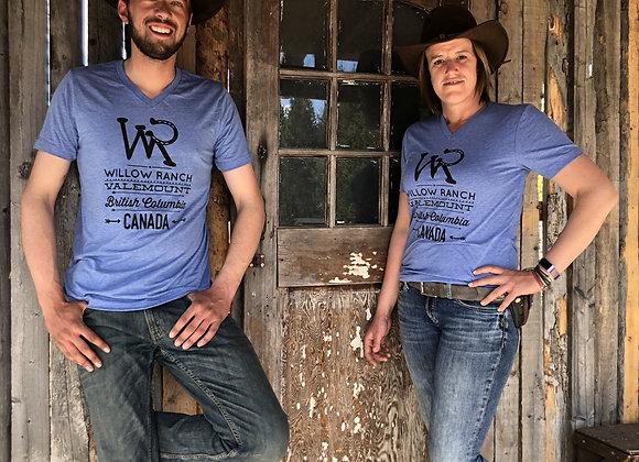 Willow Ranch T-shirt blue