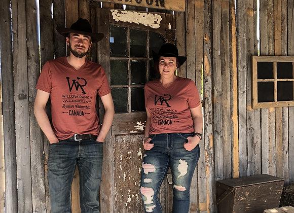 Willow Ranch T-shirt brick