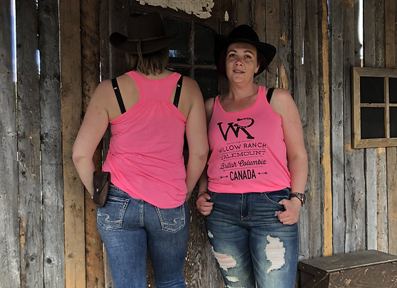 Willow Ranch Tank top neon pink