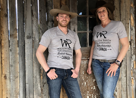 Willow Ranch T-shirt grey