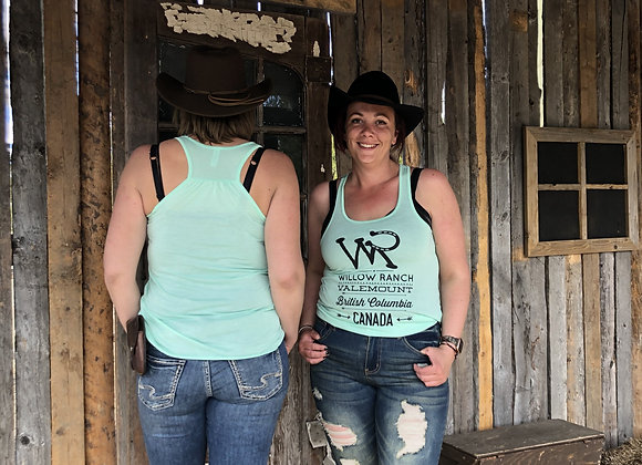 Willow Ranch Tank top light green