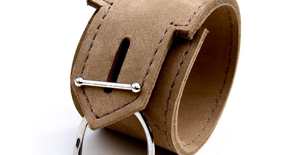 OLDENBURG LEATHER CUFF | Equestrian Leather Cuff | Stirrup Bracelet
