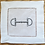 Thumbnail: TAKING THE BIT - Embroidered Cocktail Napkins