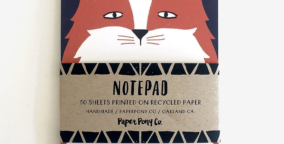 Clever Fox Notepad