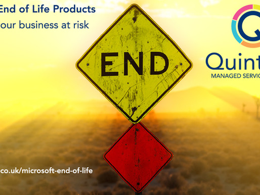 Microsoft End of Life Products - Don't put your business at risk