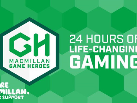 Mike Philpott and friends take on gaming challenge in aid of Macmillan Cancer Support