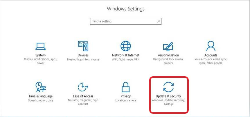 How to check for Windows 10 updates step 2