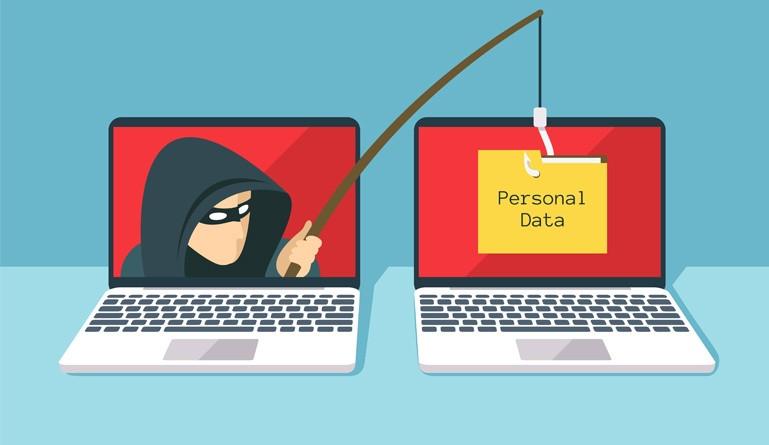 Phishing personal data