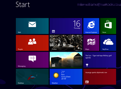 Windows 8 - How to check for updates