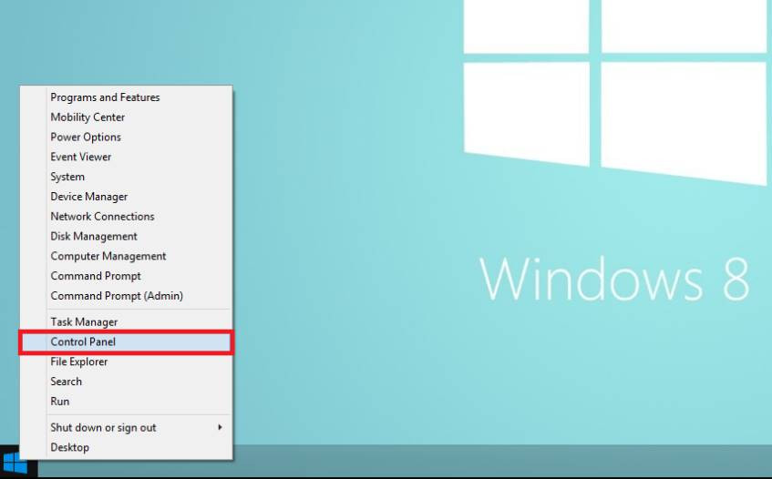 How to check for Windows 8 updates step 1