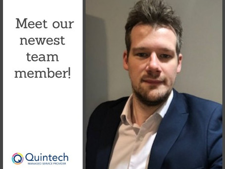 Quintech appoints new SAP Business One Support Consultant, Matt Wichmann