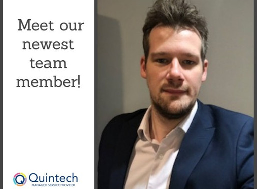 Quintech appoints new SAP Business One Support Consultant, Matt Wichmann