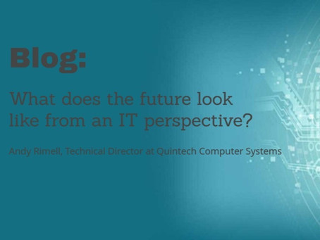 What does the future look like from an IT perspective?