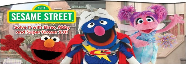 Sesame Street: Solve it with Elmo, Abby and Super Grover 2.0 - Leapfrog Enterprises