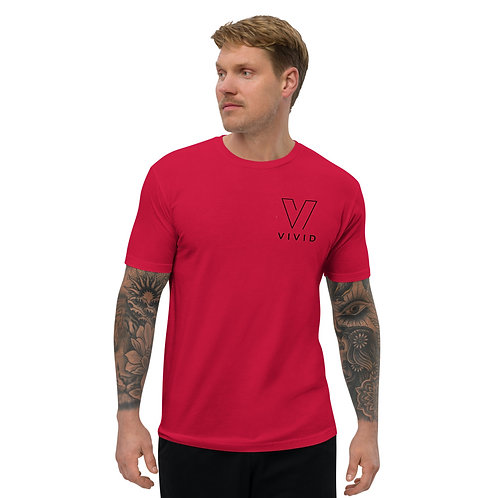 Red and Black Tee
