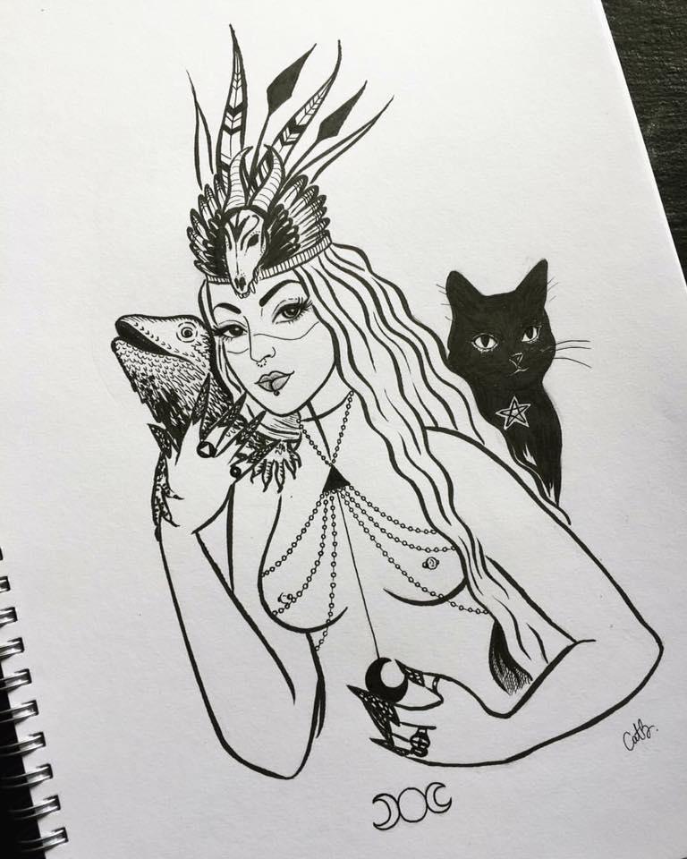 Witch Priestess