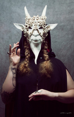 Baphomet's Masque - masked