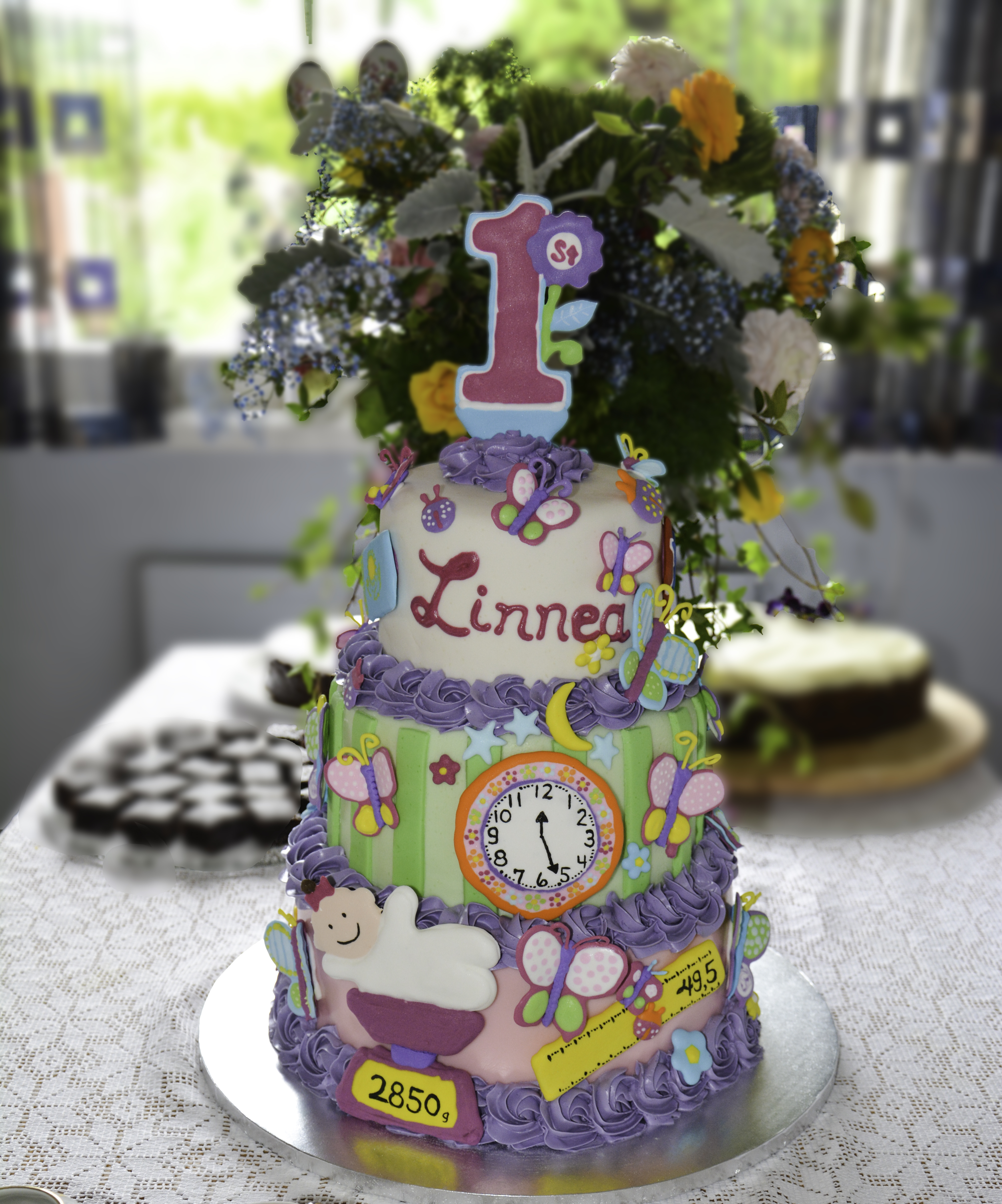Linnea's Birthday Cake