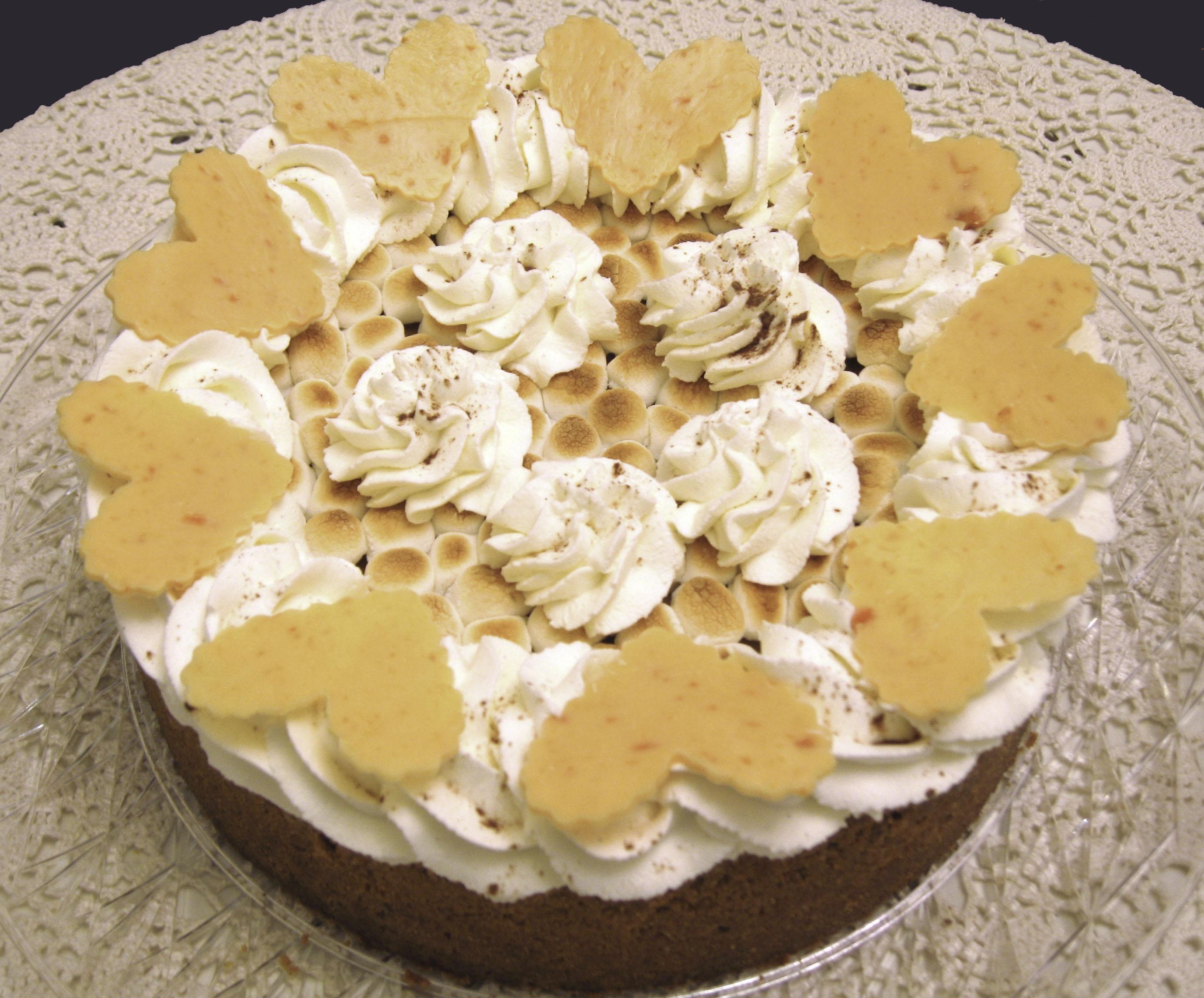 Marshmallow Sweet Potato Cheesecake
