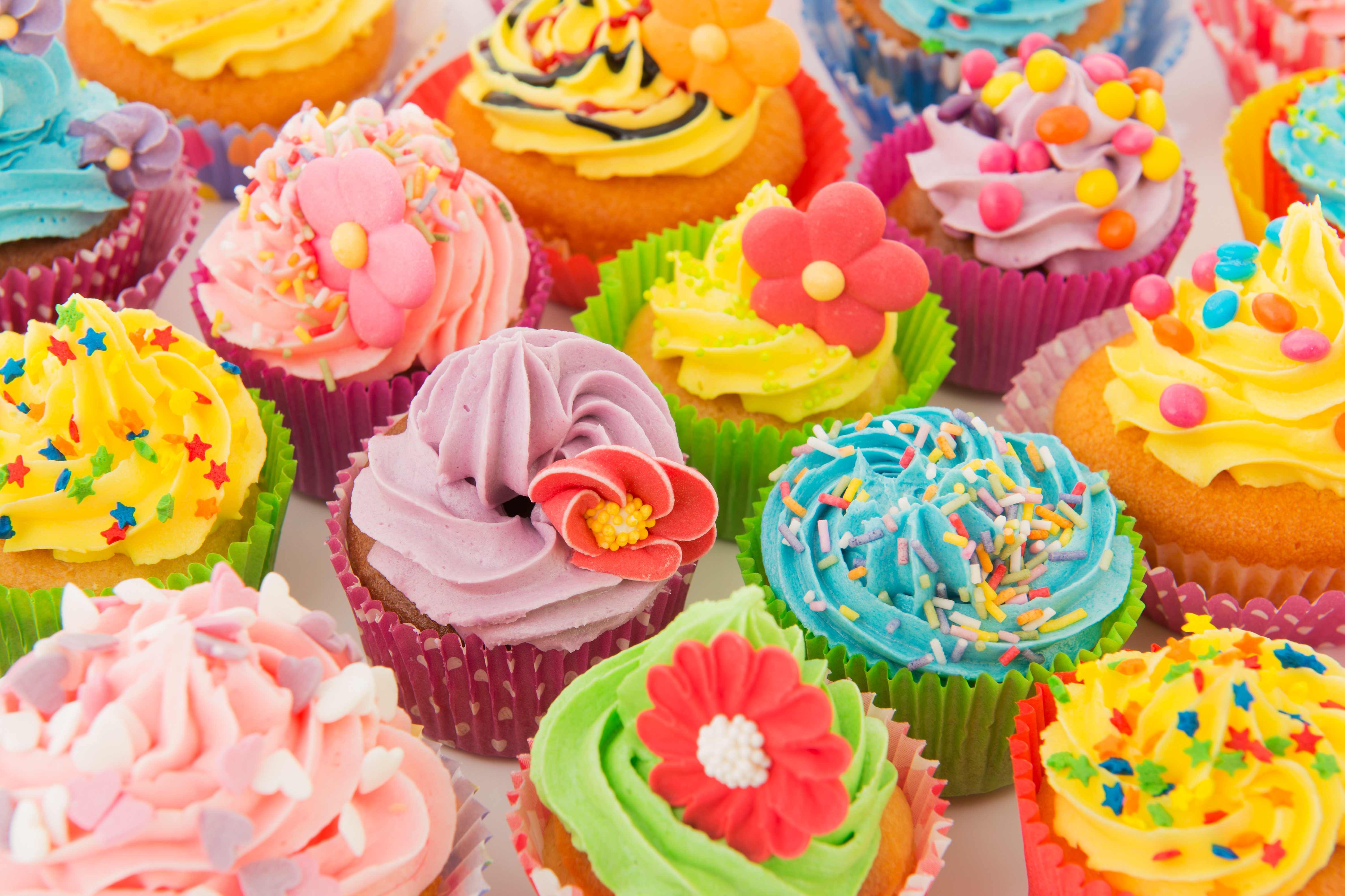 Yummy Spring Cupcakes