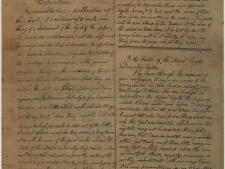 """Still Playful and Still Elusive"": Researching and Representing Hartford Female Seminary's Handwritt"