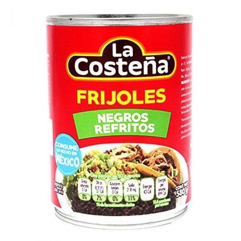 "Refried Black Beans ""La costeña"""