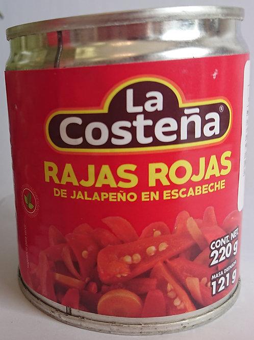 """Red Jalapeños """"La costeña"""""""