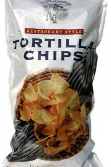 Premium baltās kukurūzas čipsi (lielie)