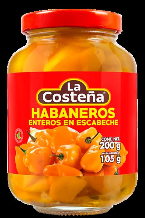 """Chiles Habaneros """"La Costeña"""""""