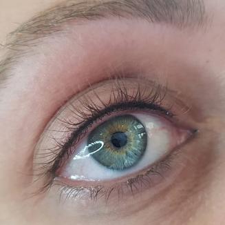Upper permanent eyeliner
