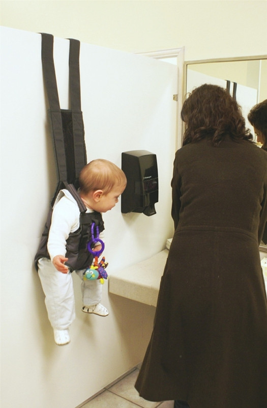 baby carrier with hooks