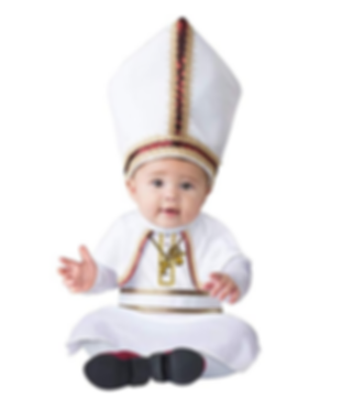 Infant Pope Costume