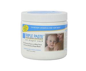 Triple Paste Medicated Diaper Rash Cream