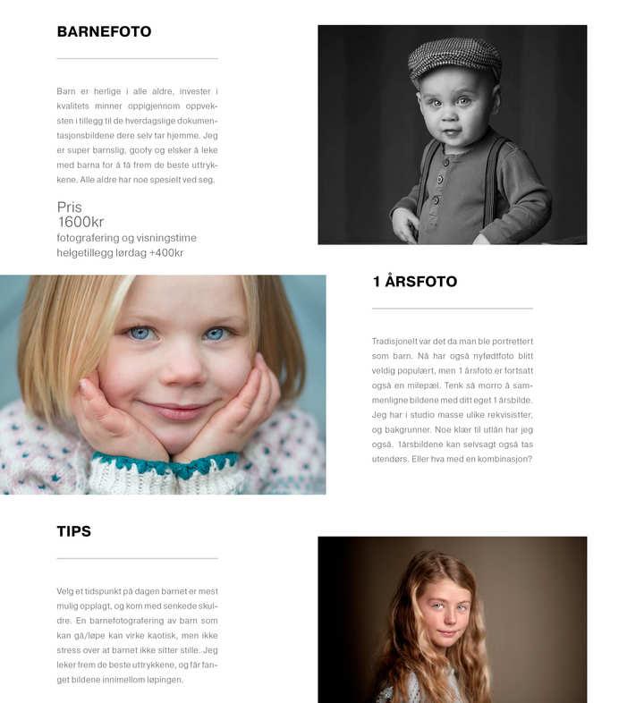 prisliste barn