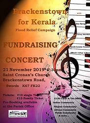 Brackenstown For Kerala Concert Poster.P