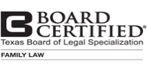 Certified by the Txas Board of Legal Specialization