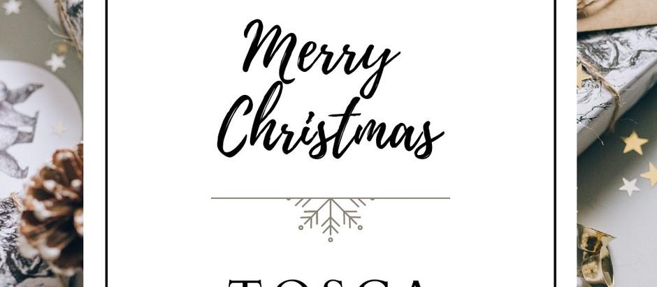 Tosca Design vi augura un sereno e felice Natale!❤️