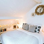 location chalet montagne Chambre blanche