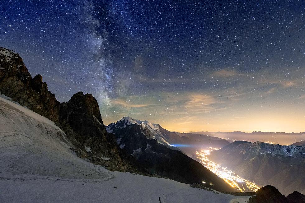 Haute-Savoie (74), Chamonix, Aiguille du Midi, Vallée Blanche, location de vacances chalet les Cerises