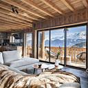 Webcam Cordon, Mont Blanc woonkamer balkon