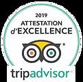 Chalet les Cerises Cordon attestation excellence TripAdvisor