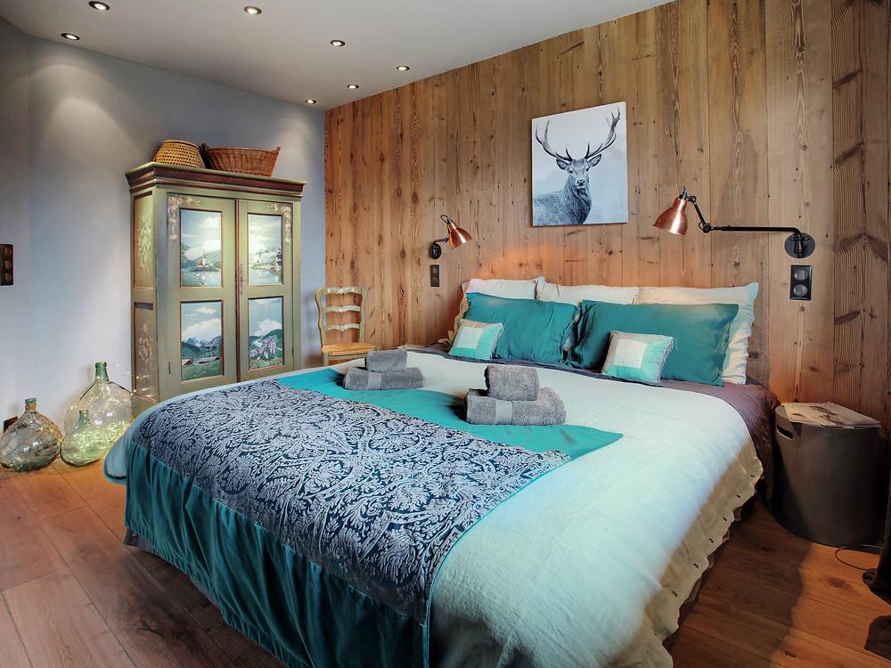 chalet les cerises à louer particulier megeve luxe décoration Mont-Blanc Cordon Megève ALpes