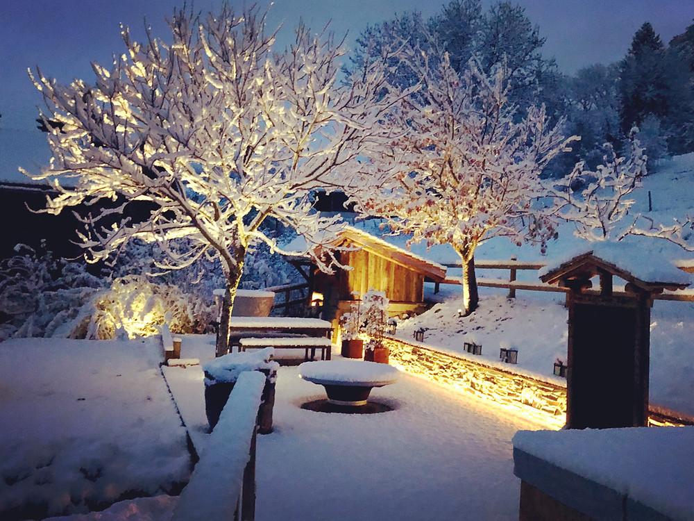 chalet de luxe 8 personnes a louer vacances noel ski haute savoie cordon megeve Mont-blanc design