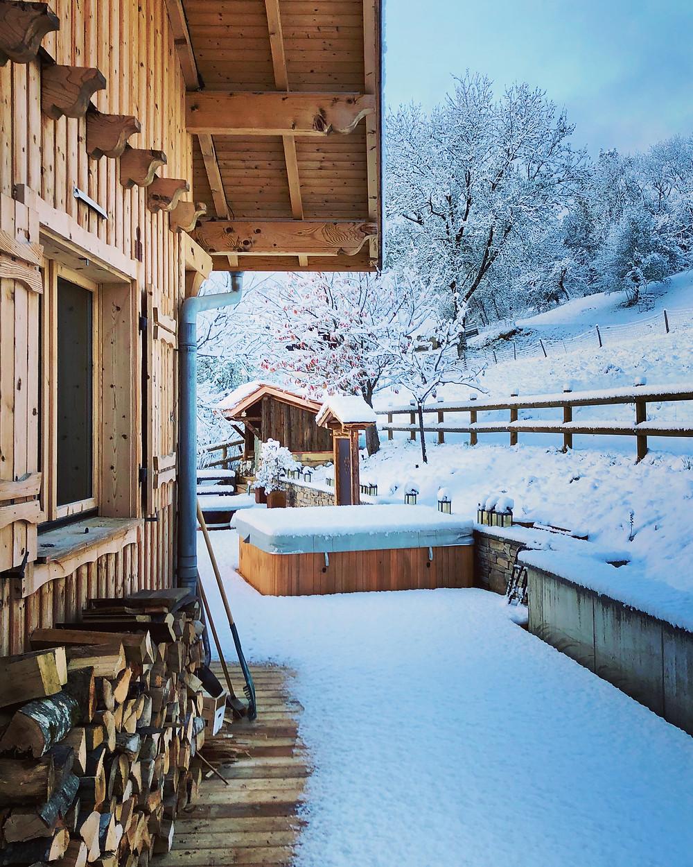 Spa Privatif, Chalet de Luxe, Belles Demeures, Location avec Jacuzzi Privatif, Maison de Luxe