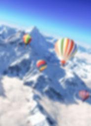 """Montgolfiere at Chalet """"Les Cerises"""" French Alps, Haute-Savoie, Mont-Blanc"""